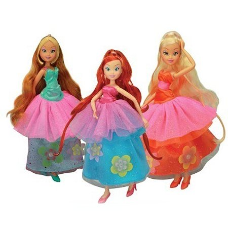 Кукла Winx Club Принцесса цветов в ассортименте