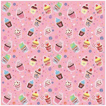 Бумага упаковочная Magic Time Пирожные Розовые 70*2*2см 76607