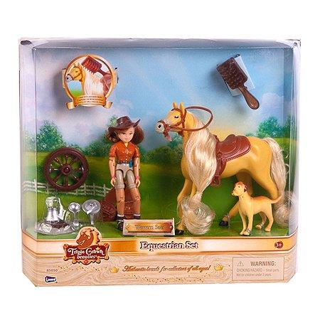Игровой набор Lanard Всадник с лошадью в ассортименте