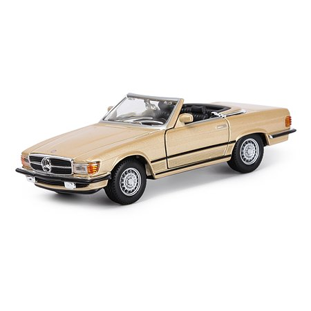 Машина BBurago 1:32 Mercedes Benz 450sl 18-43212