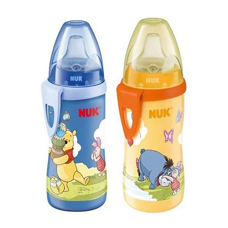Бутылочка-поильник Nuk Active Cup с силиконовой насадкой в ассортименте