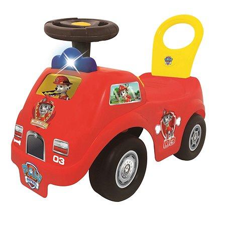 Каталка-пушкар Kiddieland Пожарная машина Маршалл спасатель (звук/свет)