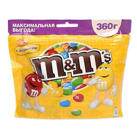 Драже M&MS с арахисом 360г