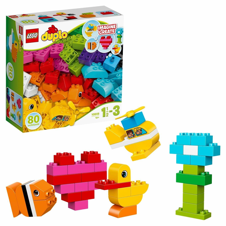 Конструктор LEGO DUPLO My First Мои первые кубики (10848)