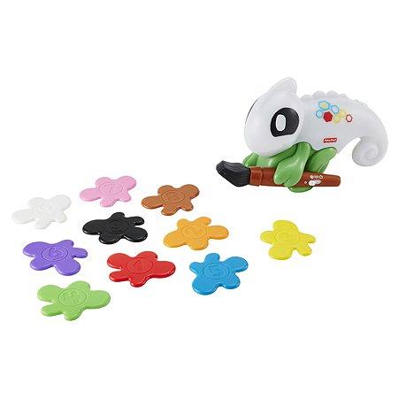 Игрушка развивающая Fisher Price Обучающий хамелеон