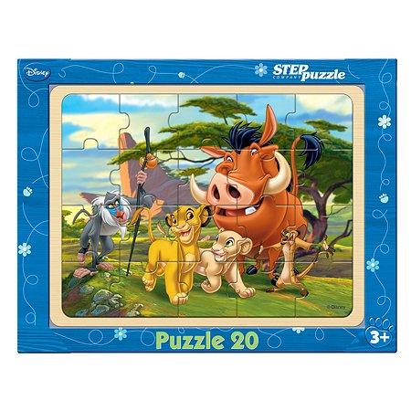 Игра из дерева Step Puzzle Король Лев (89120)