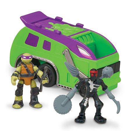Мусоровоз с фигурками Ninja Turtles(Черепашки Ниндзя) Донни и Фут