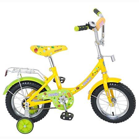 "Велосипед Navigator Basic 12"" Зелено-желтый"