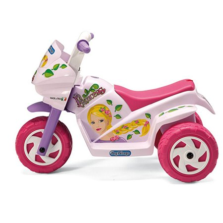 Электромобиль Peg-Perego эл/привод Raider Mini Princess