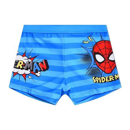 Плавки Spider-man синие