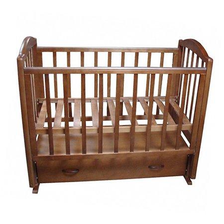 Кровать детская Фея 660 цвет темный мед