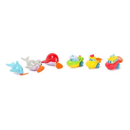 Заводная мини-игрушка Navystar для ванной в ассортименте