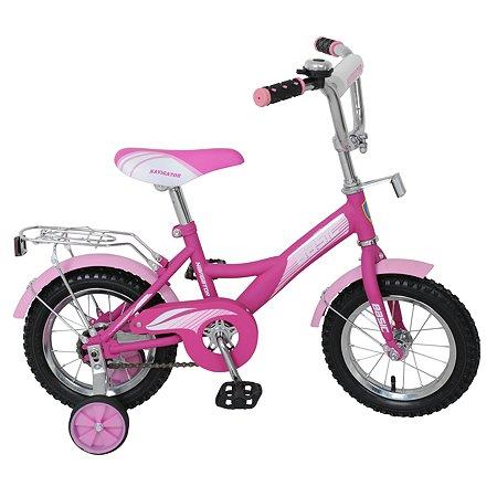 """Велосипед Navigator Basic 12"""" Фиолетово-розовый"""