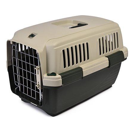 Переноска для кошек и собак MARCHIORO Cayman 1 Зелено-бежевая