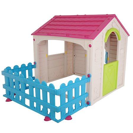 Дом игровой Keter My Garden House Фиолетовый-Белый-Экрю 17197223
