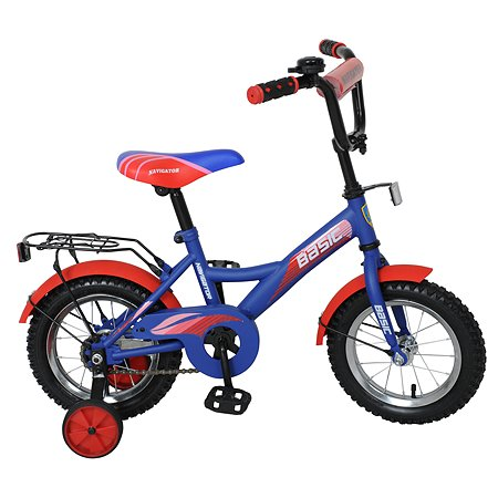 """Велосипед Navigator Basic 12"""" Сине-красный"""