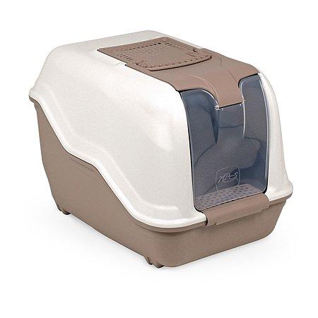 Био-туалет для кошек MPS Netta с совком Коричневый