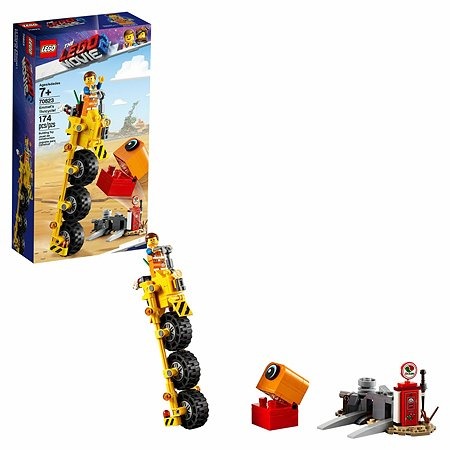 Конструктор LEGO Movie Трехколёсный велосипед Эммета 70823