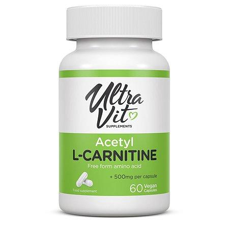 Л-Карнитин ULTRAVIT Acetyl 60капсул