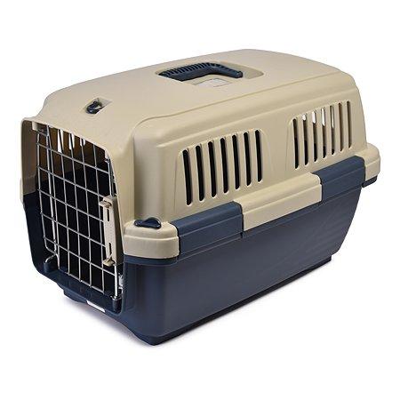 Переноска для кошек и собак MARCHIORO Cayman 1 Сине-бежевая