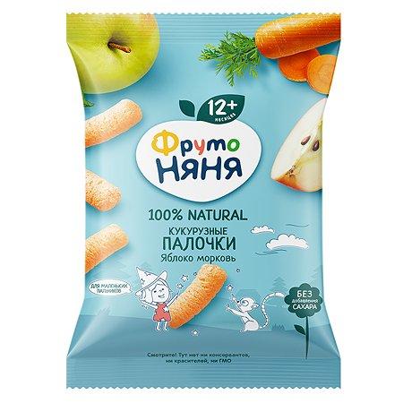 Палочки ФрутоНяня кукурузные яблоко-морковь 20г с 1года