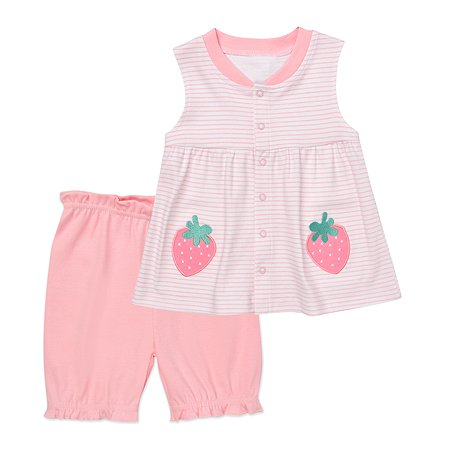 Комплект BabyGo платье + шорты