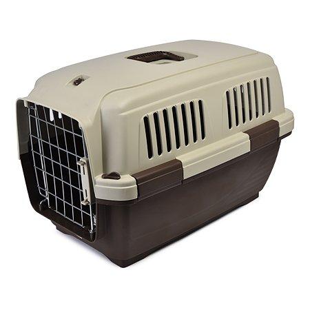Переноска для кошек и собак MARCHIORO Cayman 2 Коричнево-бежевая