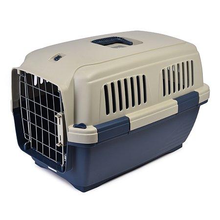 Переноска для кошек и собак MARCHIORO Cayman 2 Сине-бежевая