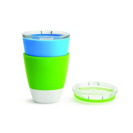 Набор стаканчиков Munchkin 2шт Голубой Зеленый 11259