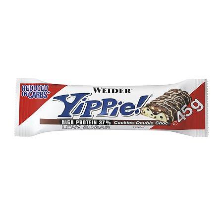 Батончик WEIDER Yippie Bar печенье шоколад 45г