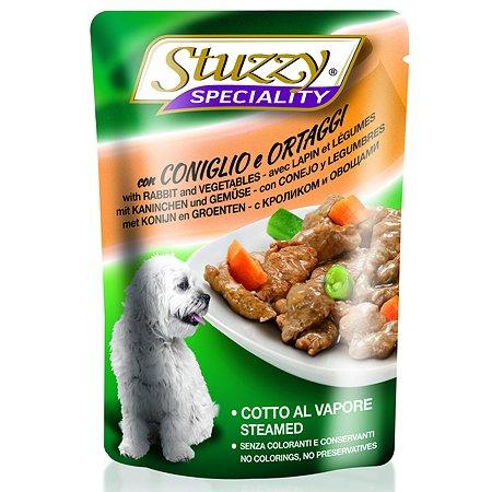 Корм для собак Stuzzy Speciality с кроликом и овощами консервированный 100г