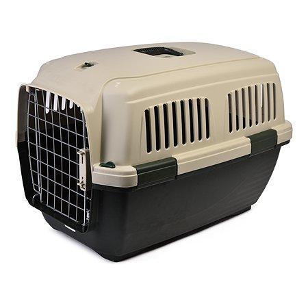 Переноска для кошек и собак MARCHIORO Cayman 3 Зелено-бежевая