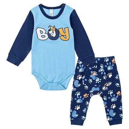 Комплект PlayToday боди + брюки