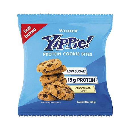 Печенье WEIDER Yippie Prot шоколадные чипы 50г