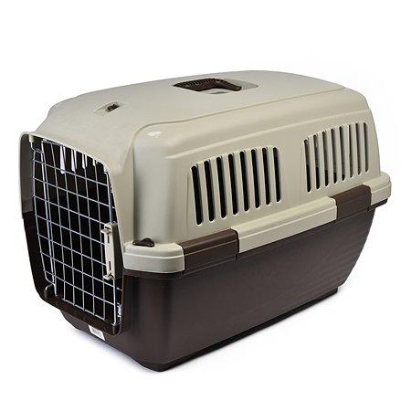 Переноска для кошек и собак MARCHIORO Cayman 3 Коричнево-бежевая