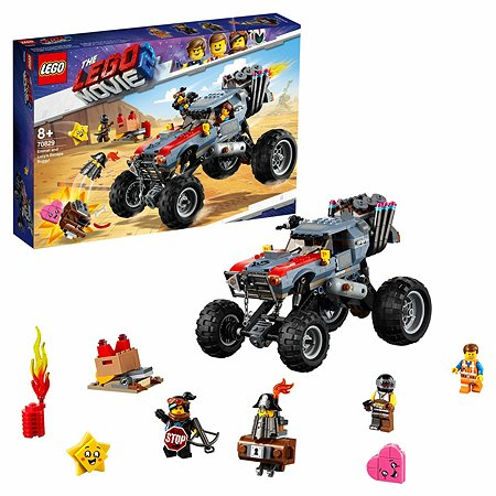 Конструктор LEGO Побег Эммета и Дикарки на багги 70829