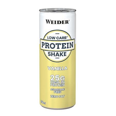 Напиток WEIDER Low Carb protein shake ваниль 250мл