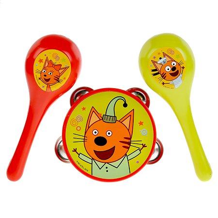 Игрушка Играем вместе Три кота Бубен и маракасы 289672
