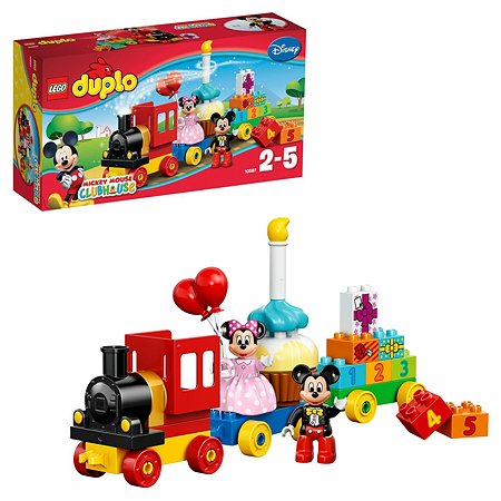 Конструктор LEGO DUPLO Disney TM День рождения с Микки и Минни (10597)