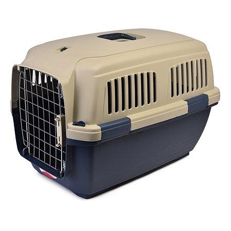 Переноска для кошек и собак MARCHIORO Cayman 3 Сине-бежевая