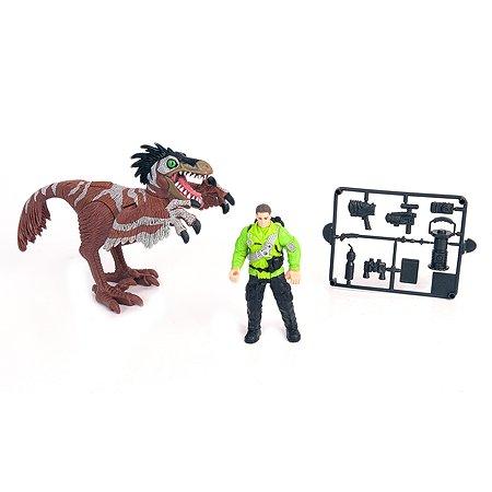Набор Chap Mei Ютараптор и охотник со снаряжением