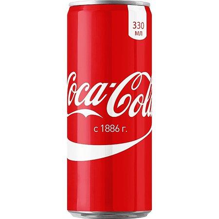 Напиток Coca-Cola 330мл 14663 14664