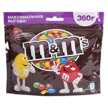 Драже M&MS шоколад 360г