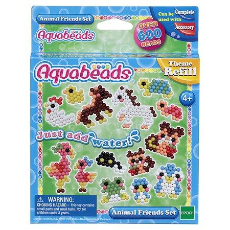 Тематический набор бусин Aquabeads Забавные животные