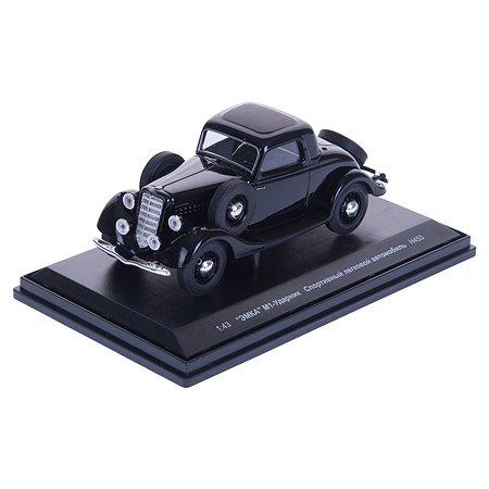 Машина Наш автопром ГАЗ М1-Ударник купе черный 1:43