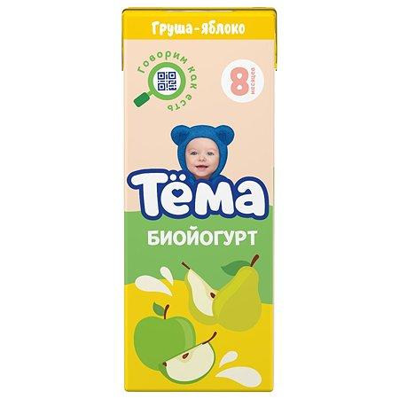 Биойогурт питьевой Тёма груша-яблоко 2.8% 210г