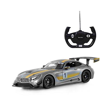 Машинка на радиоуправлении Rastar Mercedes AMG GT3 1:14 Серая