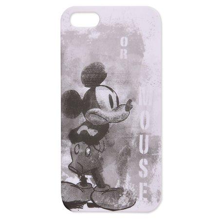 Крышка задняя для iPhone 5 Disney Микки Чёрно-белый