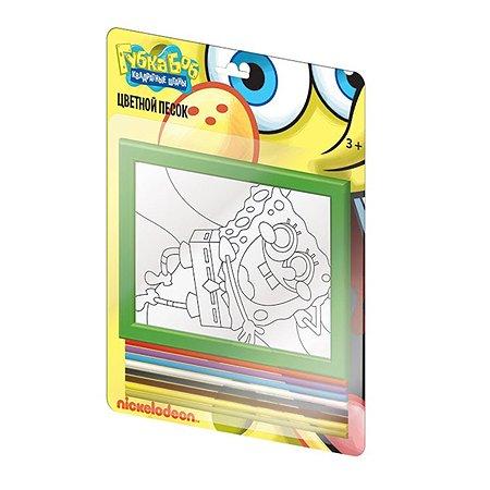 Набор-панно Spong Bob(Губка Боб) из цветного песка