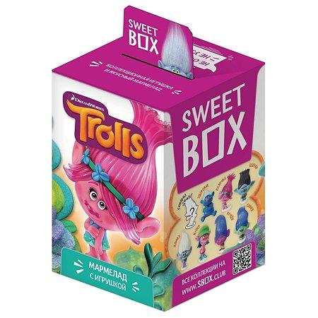 Мармелад Sweet box Тролли в коробке 10г